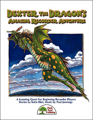 Dexter The Dragon's Amazing Recorder Adventure Cover